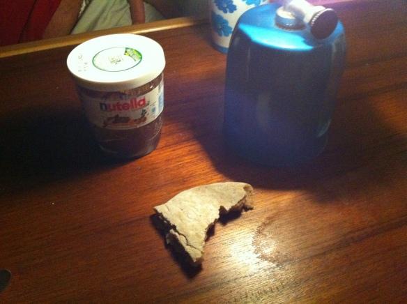 Le armi di Anna: Canfin Nutella e Pita