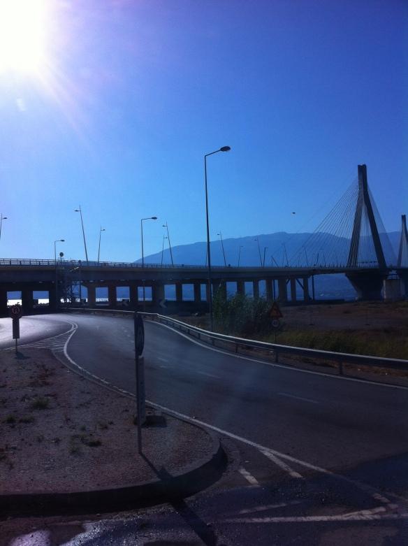 Patrasso: ponte di Rion